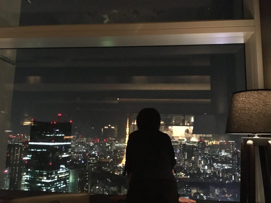 リッツ・カールトンの夜景