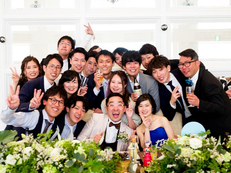 Doまんなかモールで活躍していたDoまんなかレンジャー新村さんの結婚式